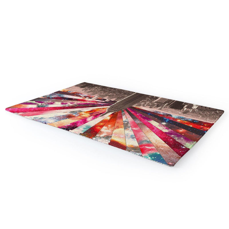 Bianca Green Superstar New York Area Rug - the printy people
