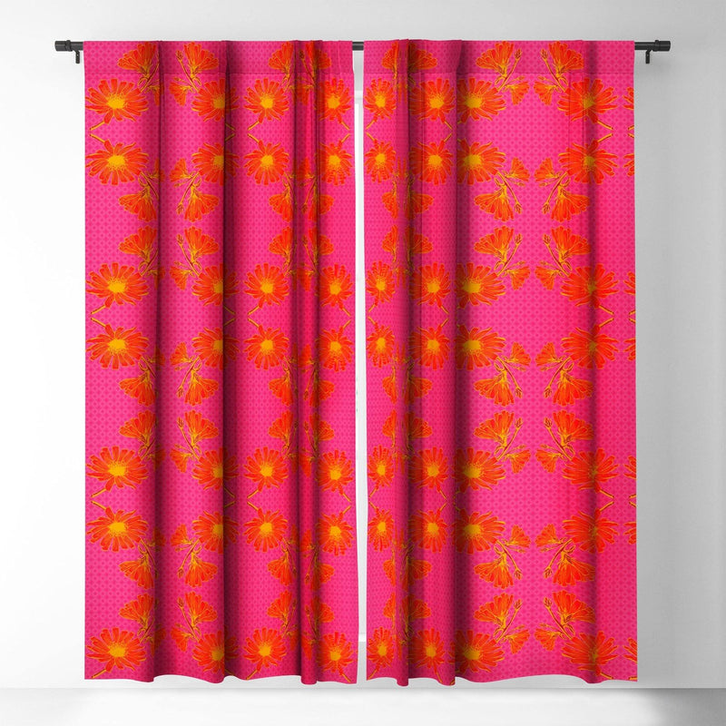Caroline Okun Bold Chickory Blackout Window Curtain - theprintypeople