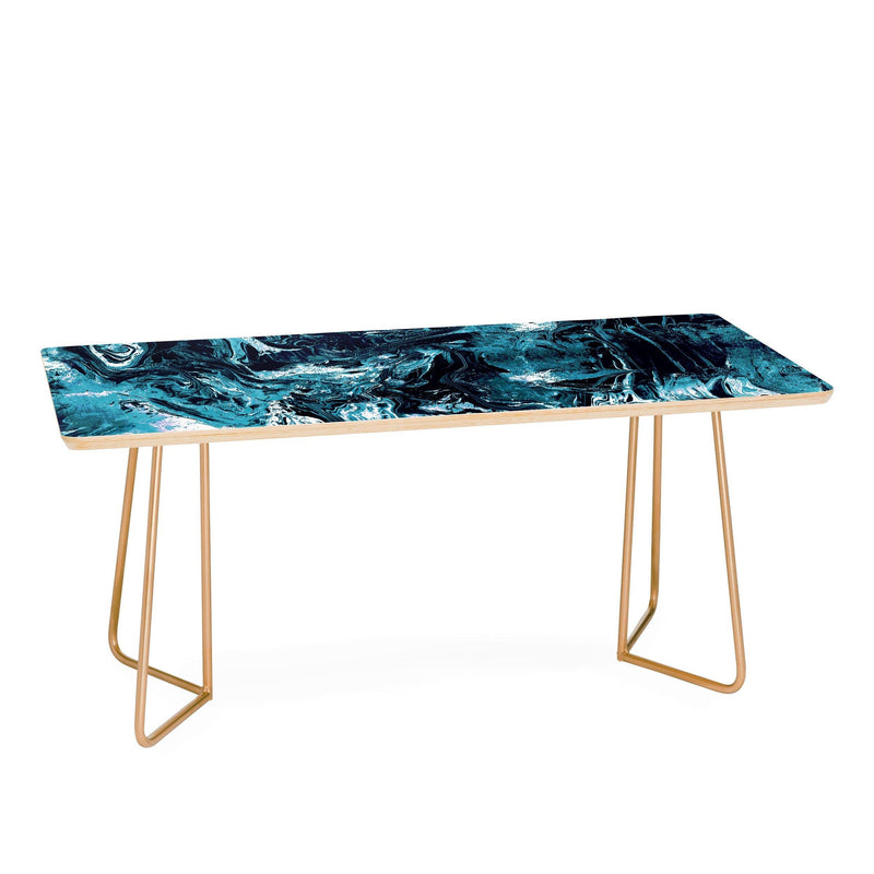 Cayenablanca Blue Marble Coffee Table - the printy people