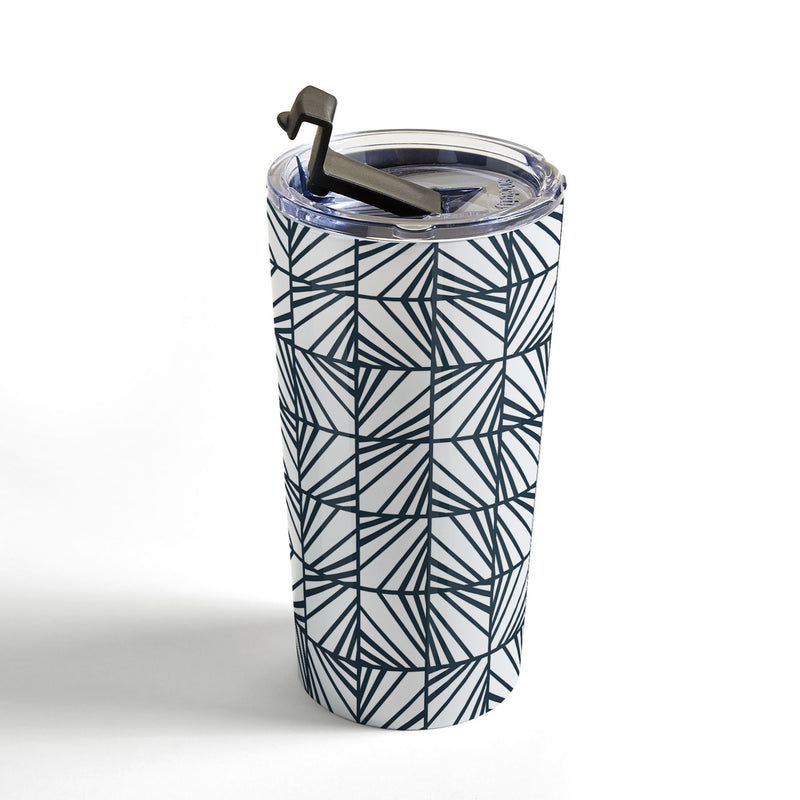 Heather Dutton Facets Optic Travel Mug - theprintypeople