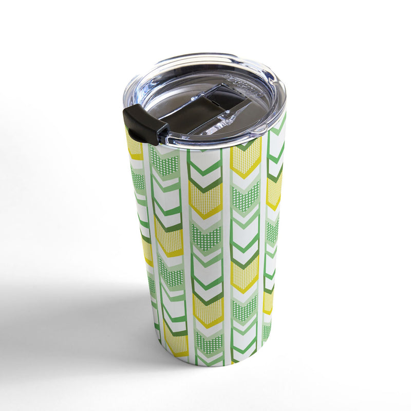 Heather Dutton Right Direction Lemon Lime Travel Mug - theprintypeople