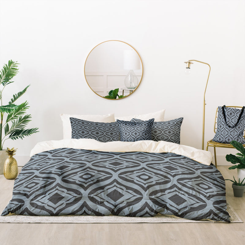 Heather Dutton Trevino Dusk Bed In A Bag Duvet Cover Set - Bed In A Bag - theprintypeople