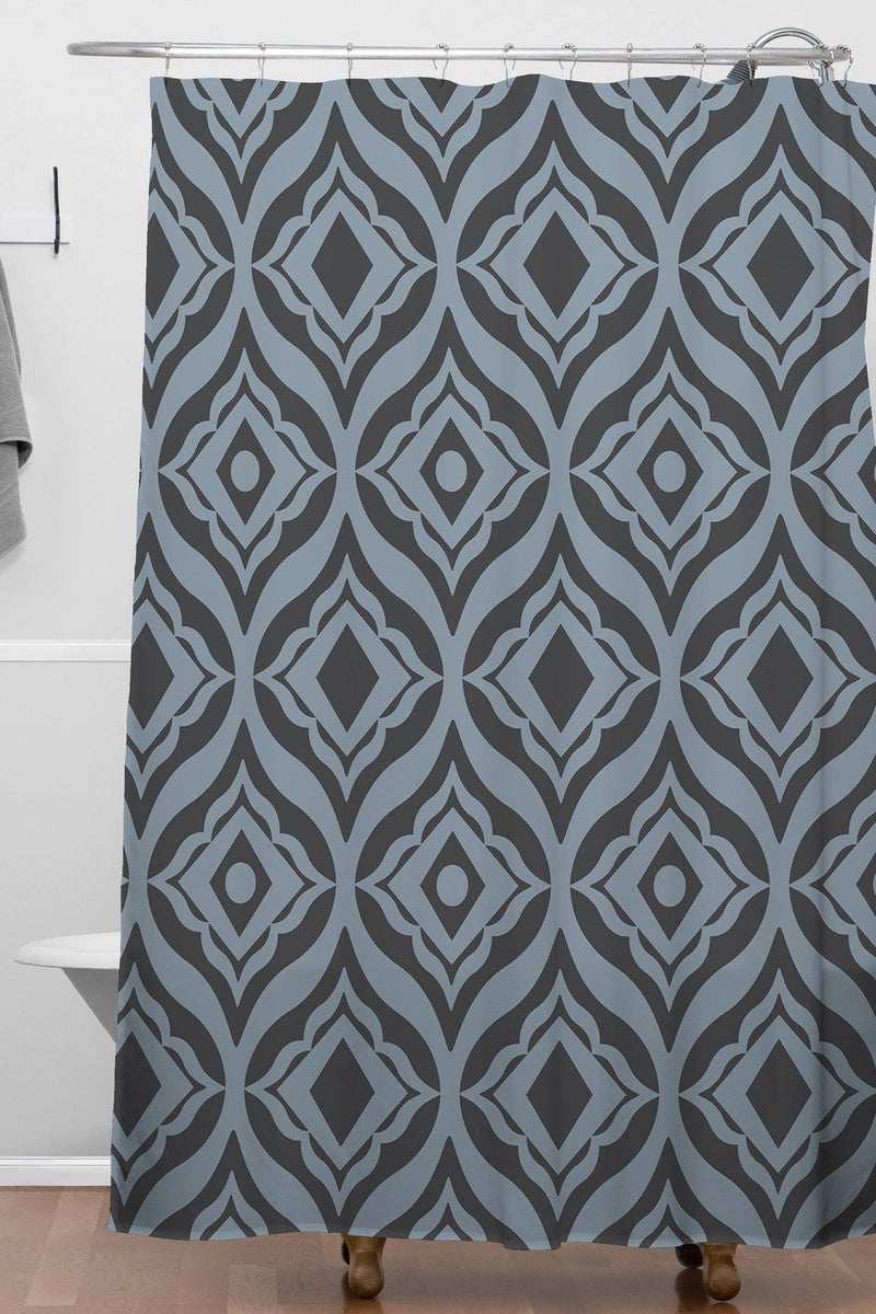 Heather Dutton Trevino Dusk Shower Curtain - theprintypeople
