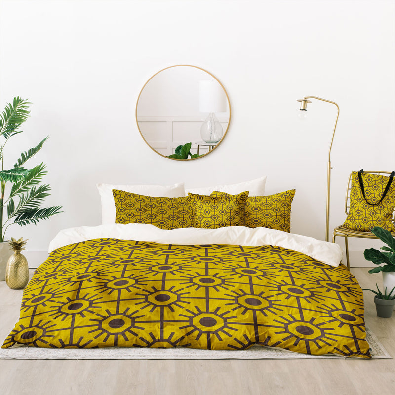 Holli Zollinger Honeycombs Bed In A Bag Duvet Cover Set - the printy people