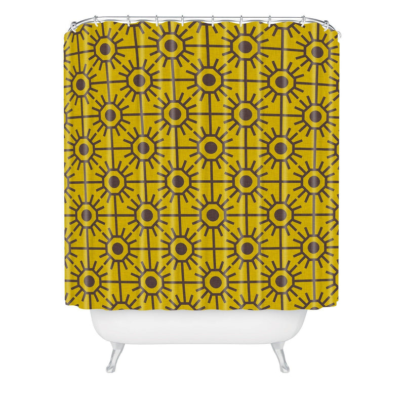 Holli Zollinger Honeycombs Shower Curtain - the printy people