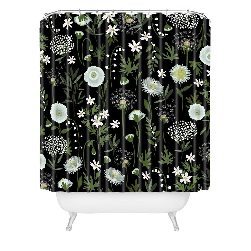Iveta Abolina Fleur I Shower Curtain - theprintypeople
