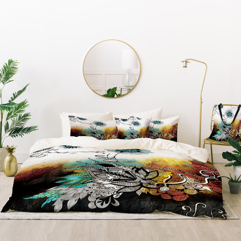 Iveta Abolina Frozen Dreams Bed In A Bag Duvet Cover Set - Bed In A Bag - theprintypeople