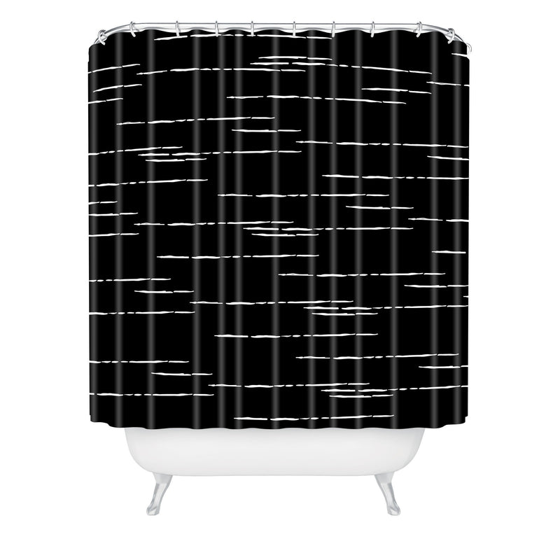 Iveta Abolina La Jardin Noir IV Shower Curtain - the printy people