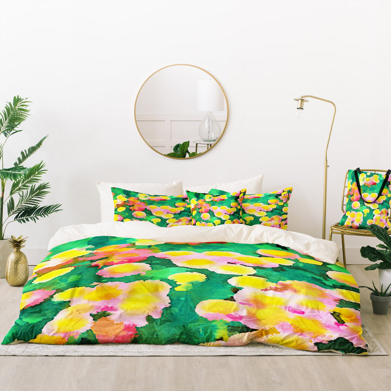 Jacqueline Maldonado Daisy Patch Bed In A Bag Duvet Cover Set - Bed In A Bag - theprintypeople