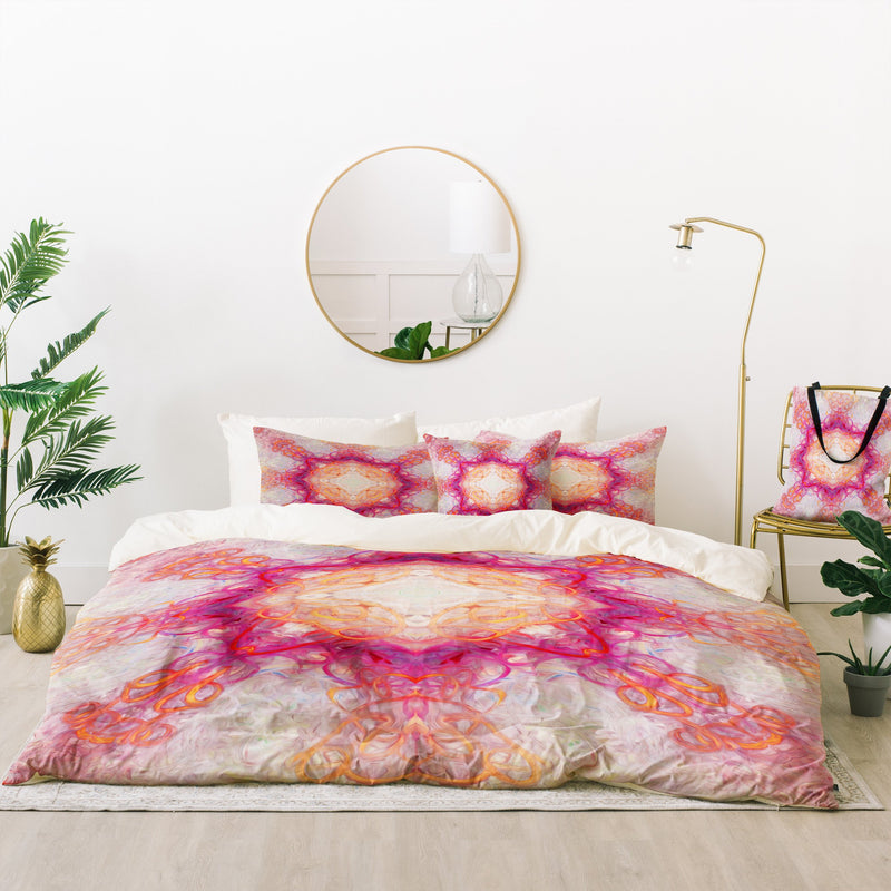 Jacqueline Maldonado Fire 1 Bed In A Bag Duvet Cover Set - the printy people