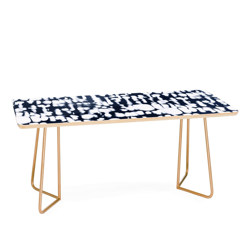 Jacqueline Maldonado Inky Inverse Dark Blue Coffee Table - theprintypeople