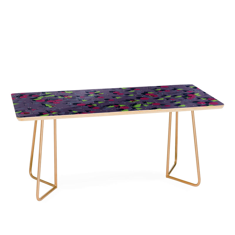 Kaleiope Studio Groovy Retro Shapes Coffee Table - Coffee Table - theprintypeople