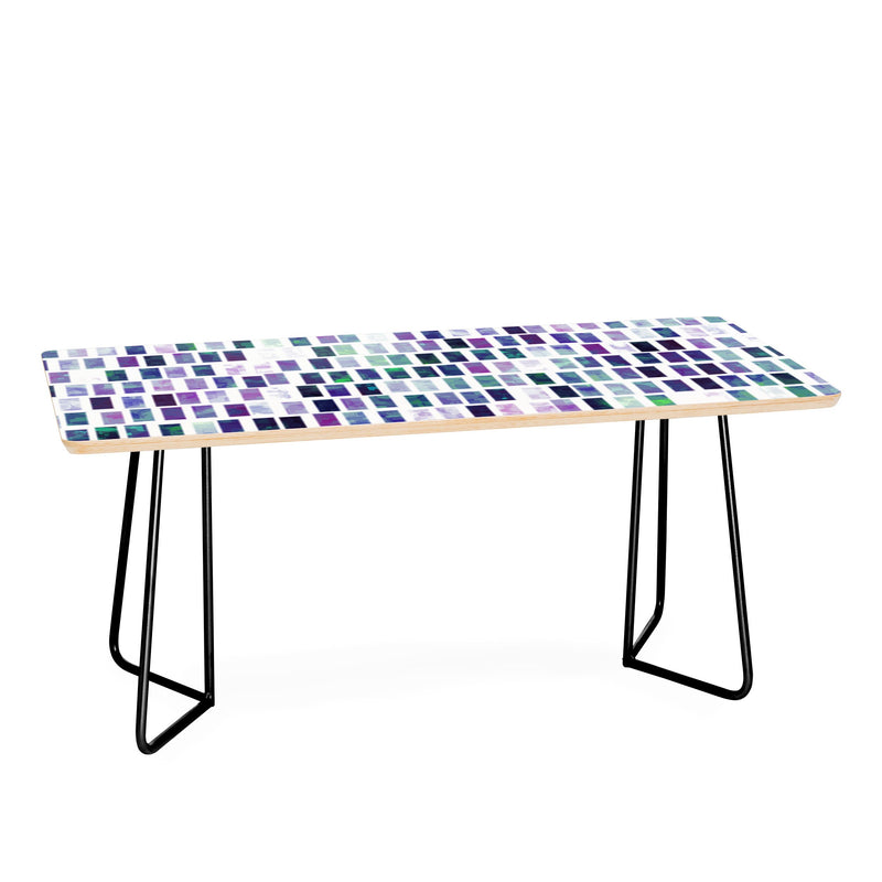 Kaleiope Studio Grungy Jewel Tone Tiles Coffee Table - Coffee Table - theprintypeople