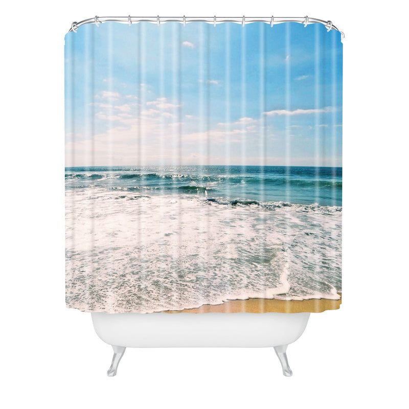 Lisa Argyropoulos Take Me There Shower Curtain - the printy people