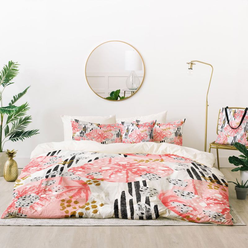 Marta Barragan Camarasa Abstract Tropical Bed In A Bag - theprintypeople