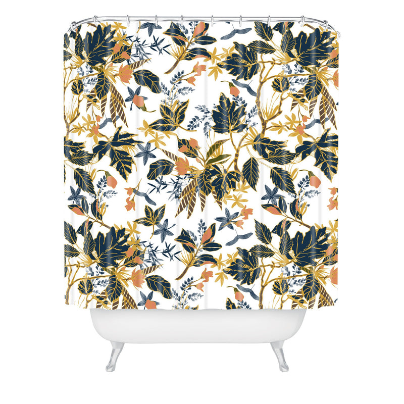 Marta Barragan Camarasa Autumnal Nature I Shower Curtain - theprintypeople
