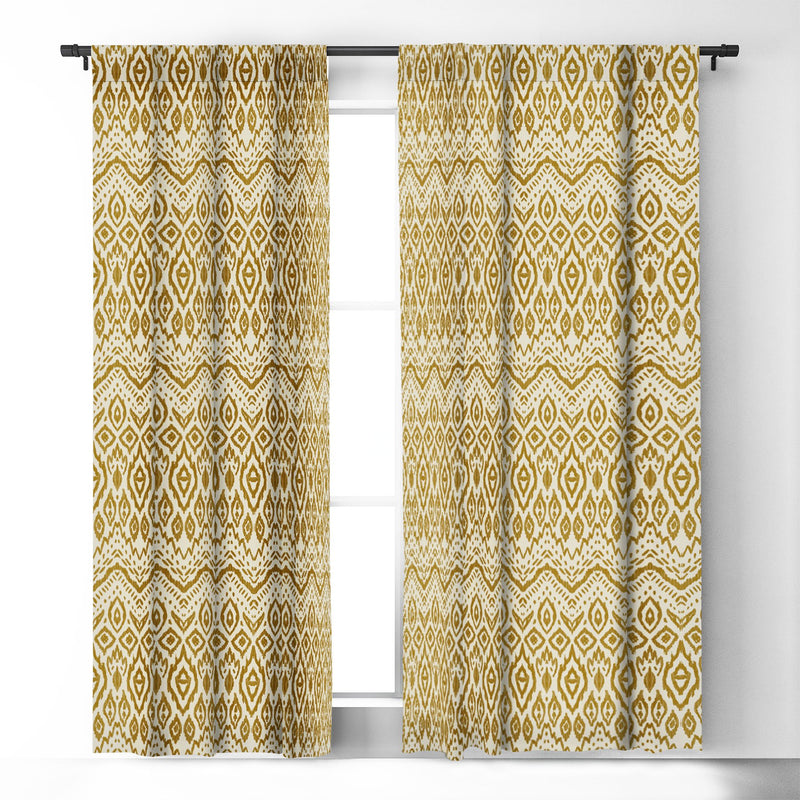 Marta Barragan Camarasa Bohemian Tribal Blackout Window Curtain - the printy people