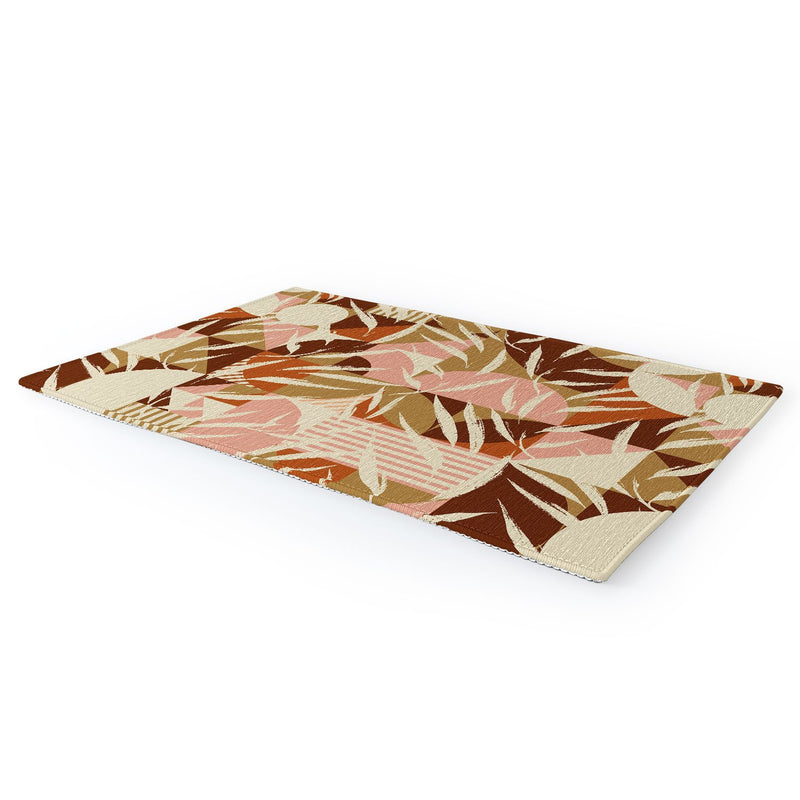 Marta Barragan Camarasa Nature With Retro Mosaic Area Rug - theprintypeople
