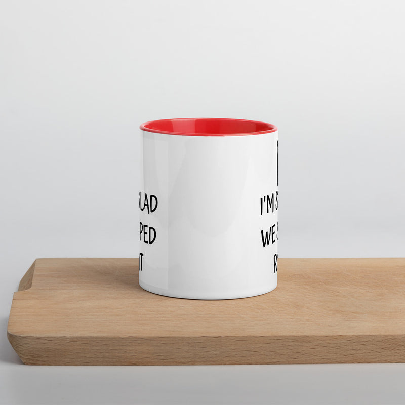 Im Glad We Swiped Right - Couple Mug - theprintypeople