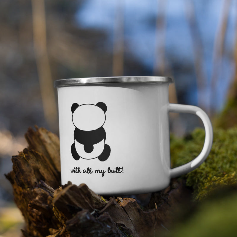 I Love You Bear Enamel Mug - theprintypeople