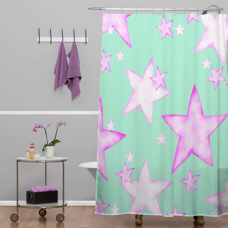 Monika Strigel All My Stars Will Shine For You Shower Curtain - theprintypeople
