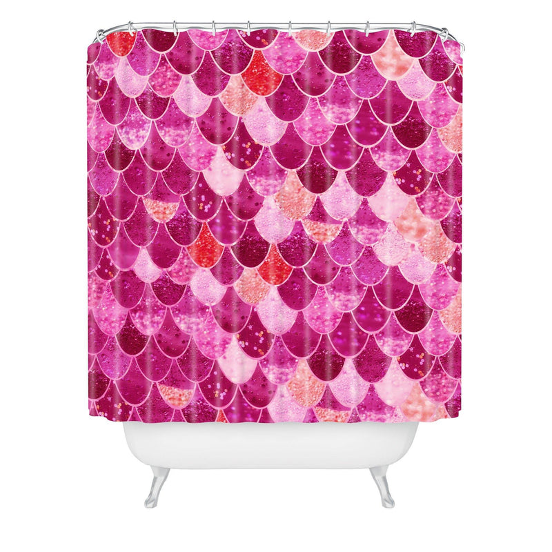 Monika Strigel Pretty Mermaid Shower Curtain - theprintypeople