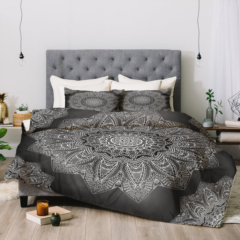Monika Strigel SERENDIPITY BLACK Comforter - theprintypeople