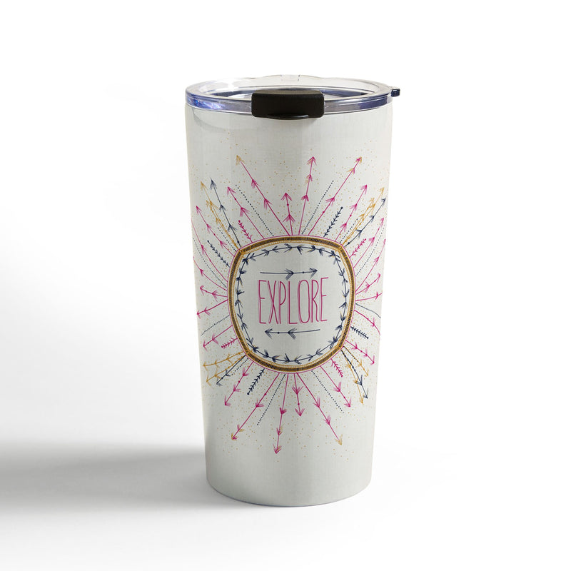 RosebudStudio Explore life Travel Mug - theprintypeople