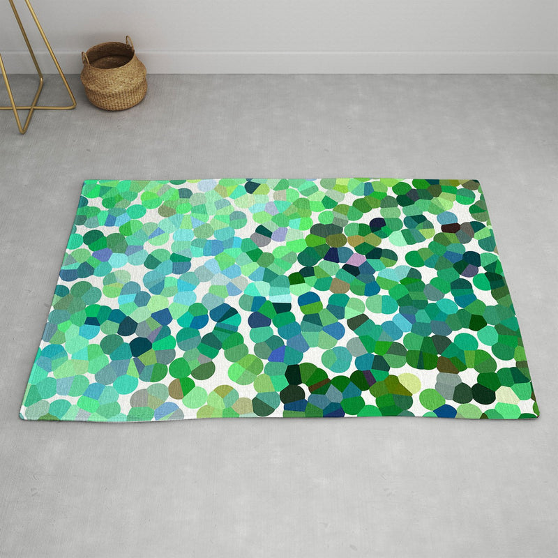 Rosie Brown Bubbles Area Rug - the printy people