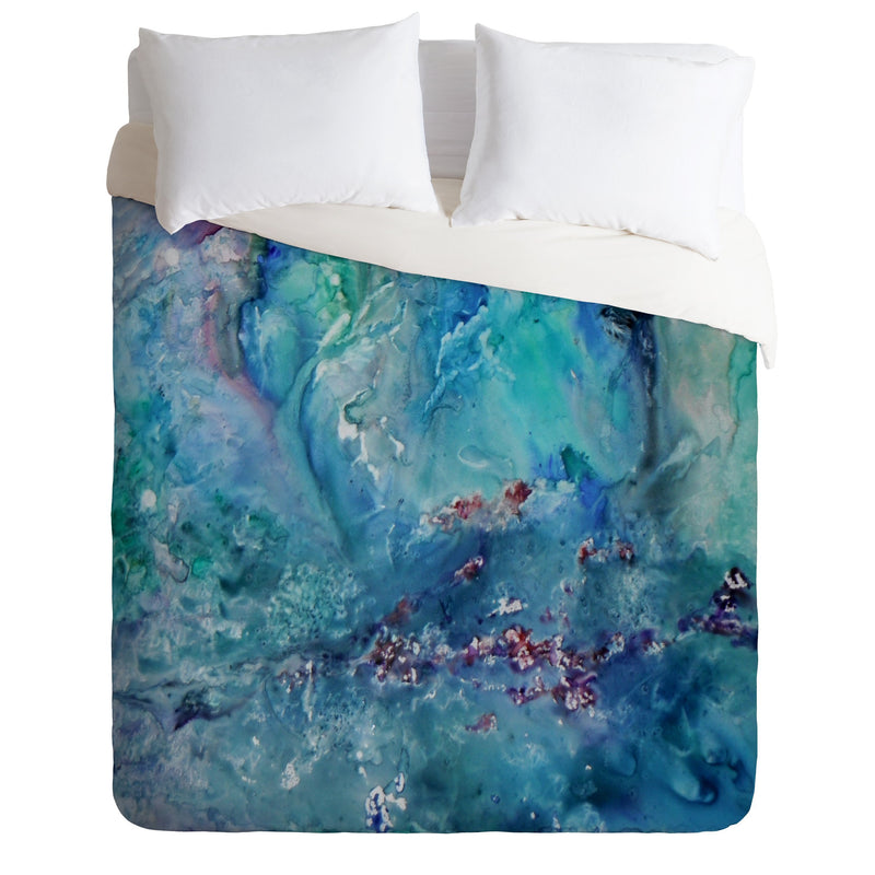 Rosie Brown Diver Paradise Duvet Cover - the printy people
