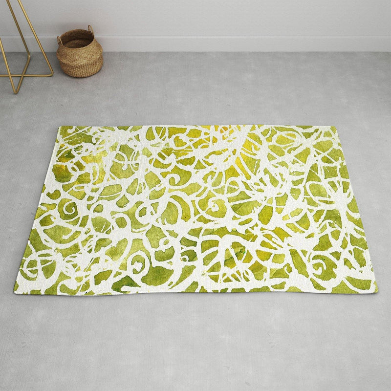Rosie Brown Golden Wrapper Area Rug - the printy people