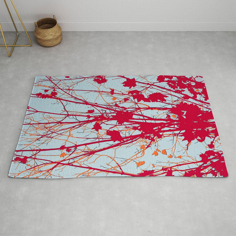 Rosie Brown Happy Autumn Area Rug - the printy people