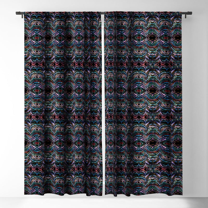 Schatzi Brown Cheeky Zebra B Blackout Window Curtain - theprintypeople