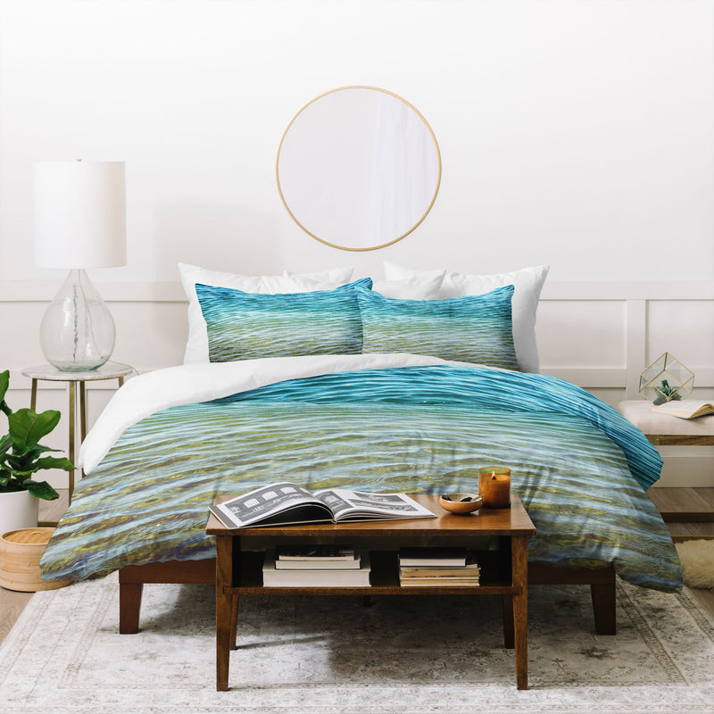 Shannon Clark Ombre Sea Duvet Cover - the printy people