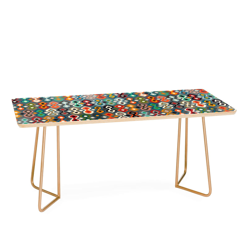 Sharon Turner Brocado Coffee Table - Coffee Table - theprintypeople
