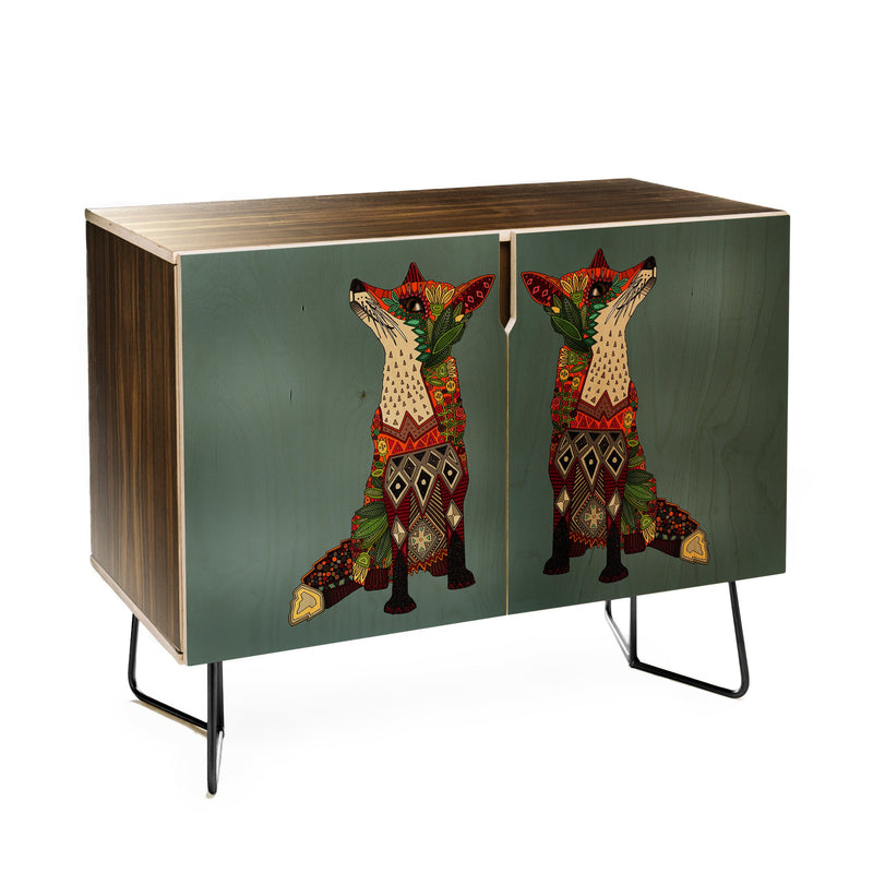 Sharon Turner Fox Love Credenza - theprintypeople