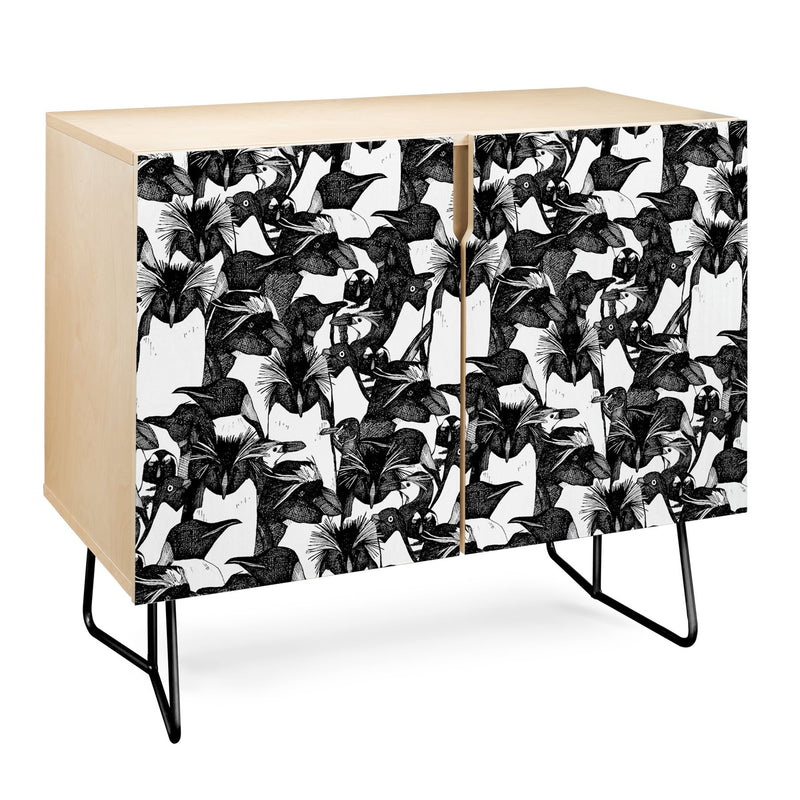 Sharon Turner Just Penguins Credenza - theprintypeople
