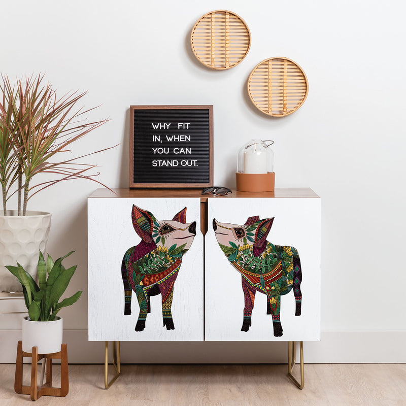 Sharon Turner Pig Love Credenza - theprintypeople