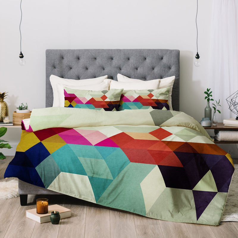 Three Of The Possessed Modele 7 Comforter - the printy people