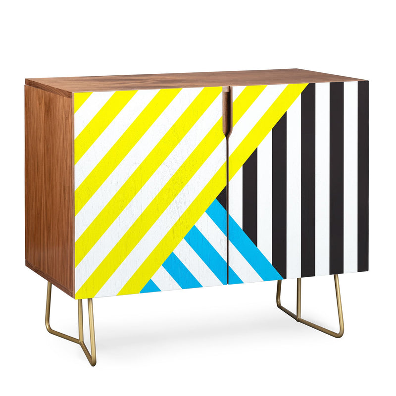 Three Of The Possessed Wave TriColour Credenza - theprintypeople