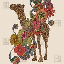 Valentina Ramos Easy Camel Shower Curtain - the printy people