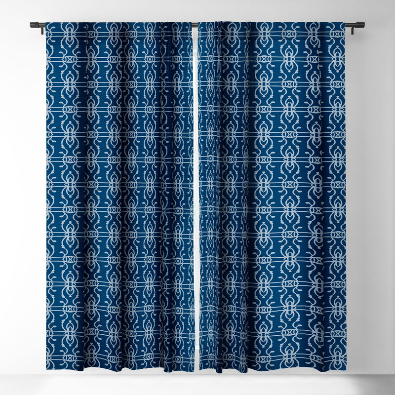Wagner Campelo Boho Lines Bismark Blackout Window Curtain - theprintypeople