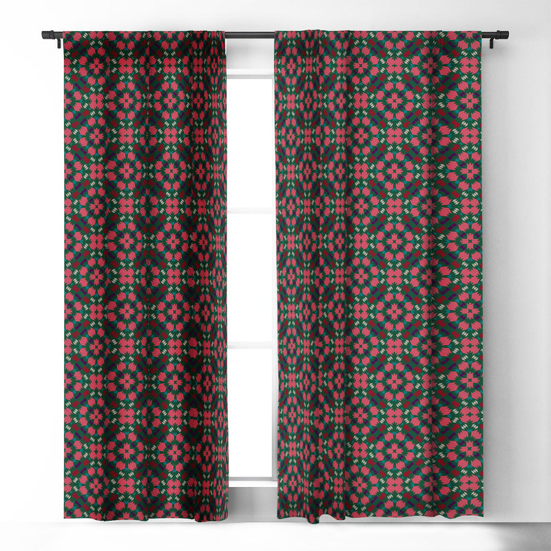 Wagner Campelo Free Volutes Bismark Blackout Window Curtain - theprintypeople