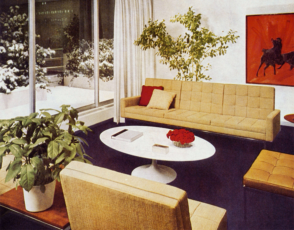 The Work of Florence Knoll Bassett