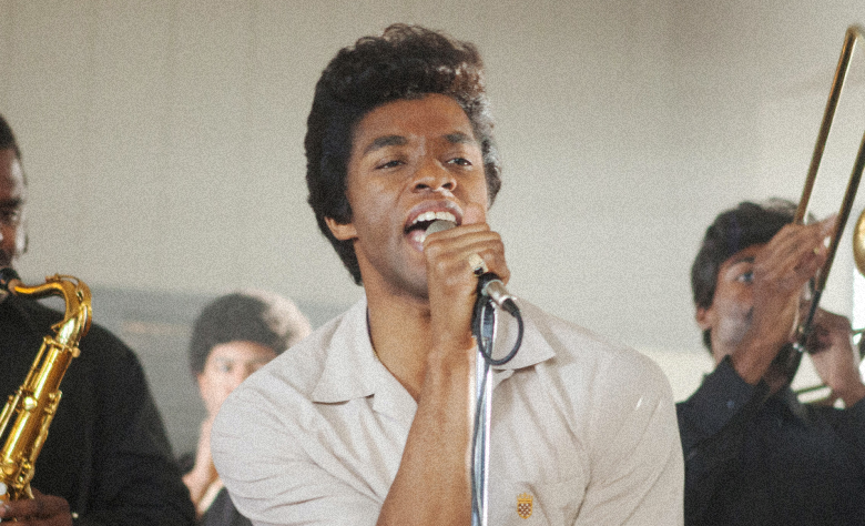 "Chadwick Boseman and his sensational portrayal of James Brown in ""Get On Up"""