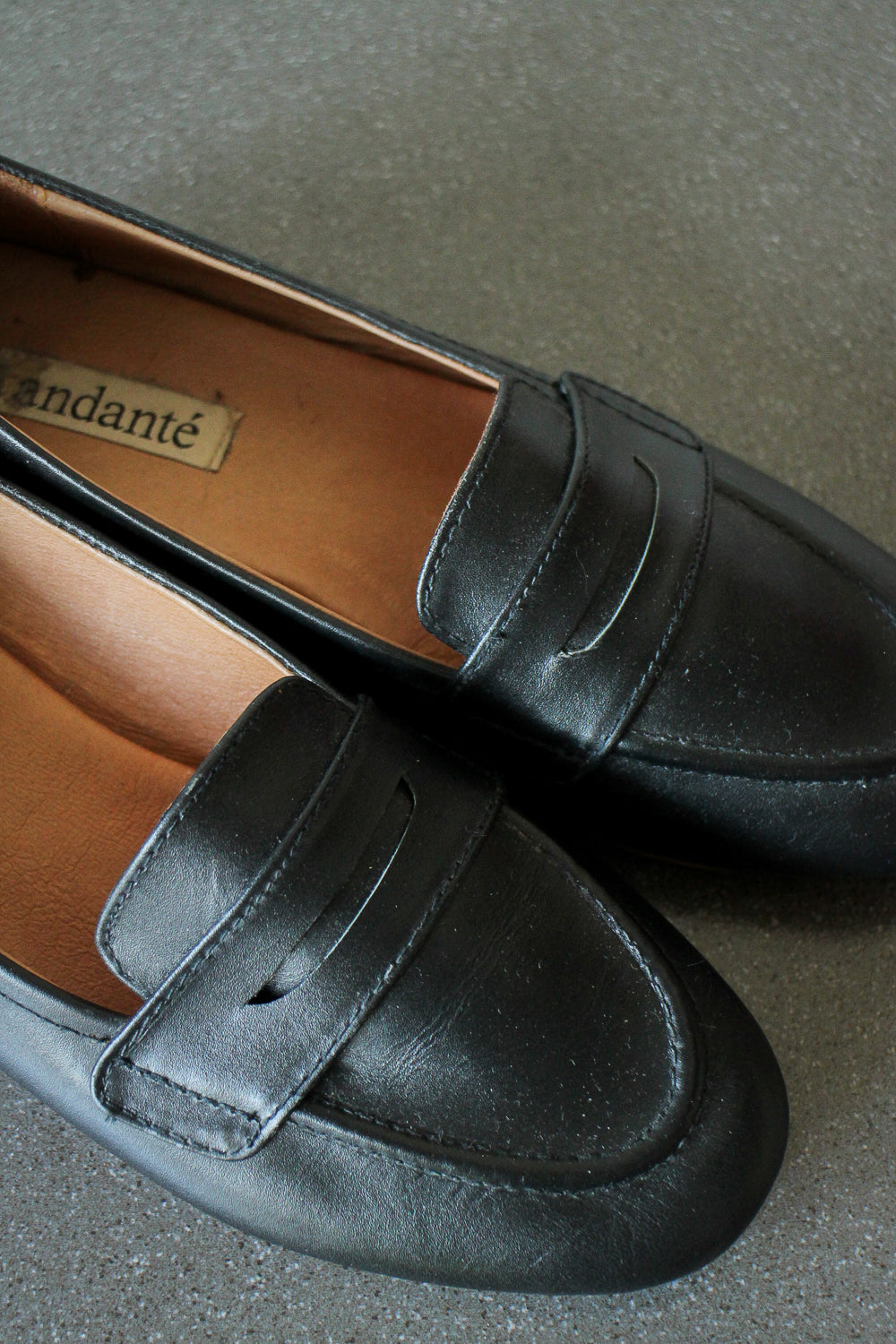Penny Loafer in Black (size 6)
