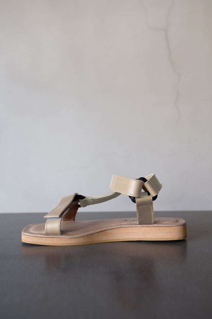 The Sportif Sandal in Antique White
