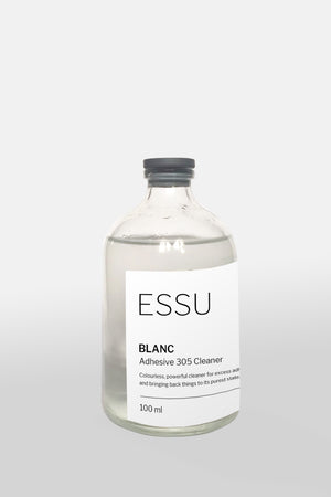 ESSU Blanc: White Leather Cleaner - andanté, cleaner - loafers, cleaner leather footwear