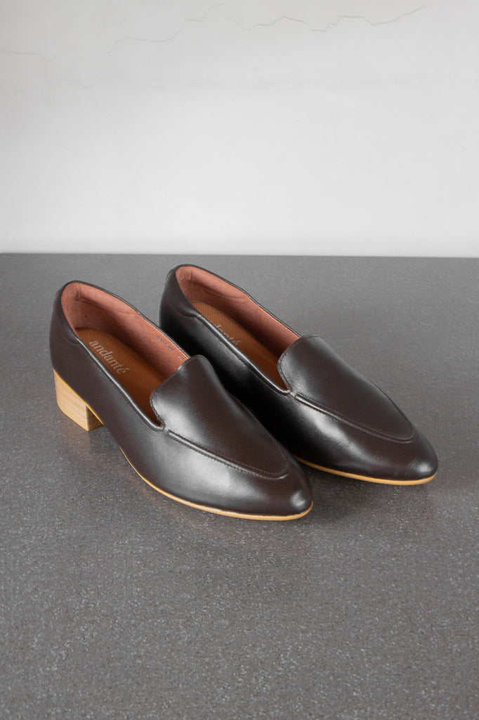 The Modern Loafer in Dark Brown