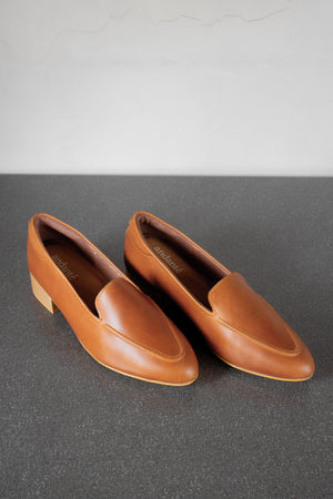 The Modern Loafer in Tan